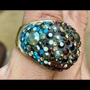 Swarovski Ombre Ring
